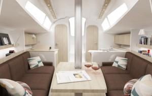 A35 interior
