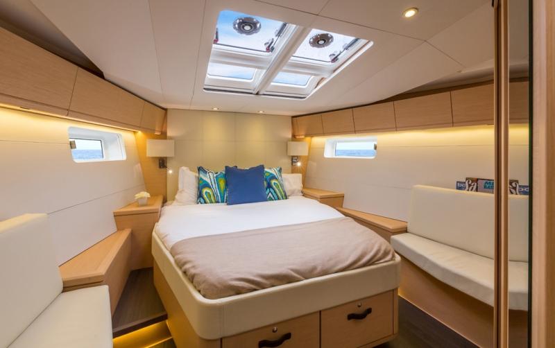 Jeanneau 54_Forward Cabin