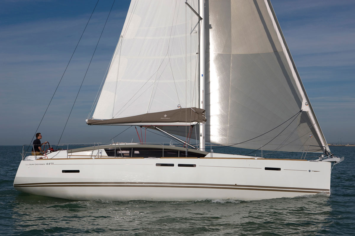 Jeanneau Sun Odyssey 44DS review   38 South Boat Sales