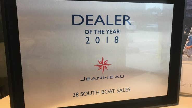 38 South - Jeanneau Dealer of the Year