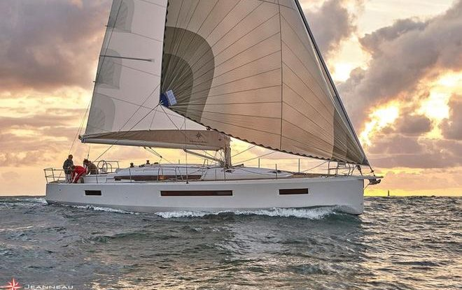 "Sun Odyssey 490 named ""Best of the Best"" by prestigious Robb Report"