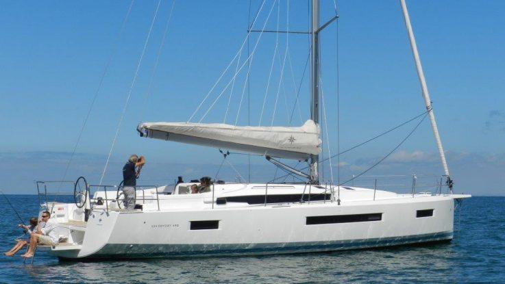 Sun Odyssey 490 Open For Inspection