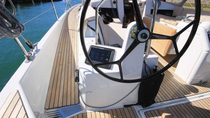 Revolutionary Side Decks on Sun Odyssey 440 & 490