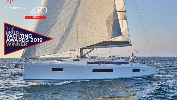 Sun Odyssey 410 Wins British Yachting Award