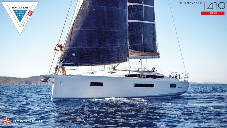 Sun Odyssey 410 - Wins Best Midsize Cruiser