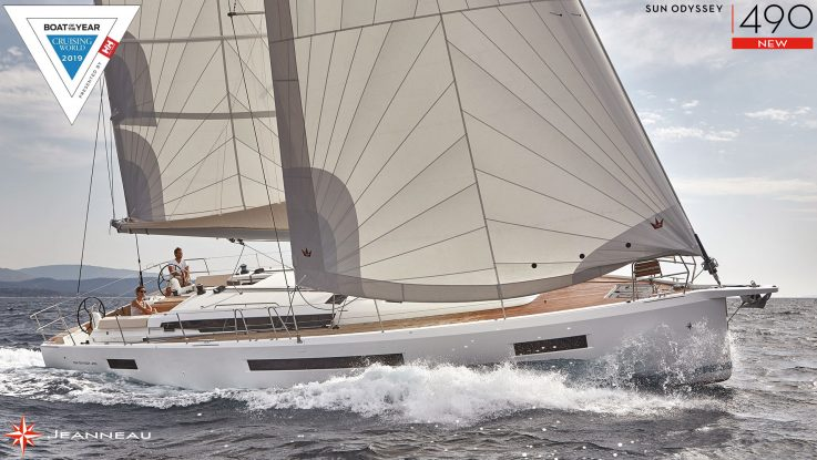 Sun Odyssey 490 - Import Boat of the Year