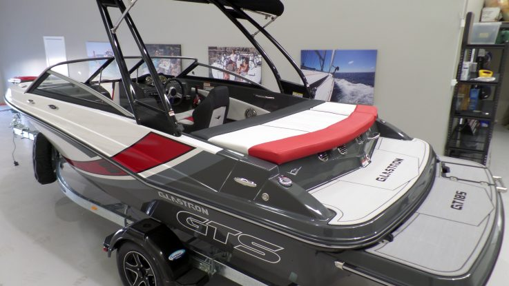 Glastron Launch at Melbourne Boat Show