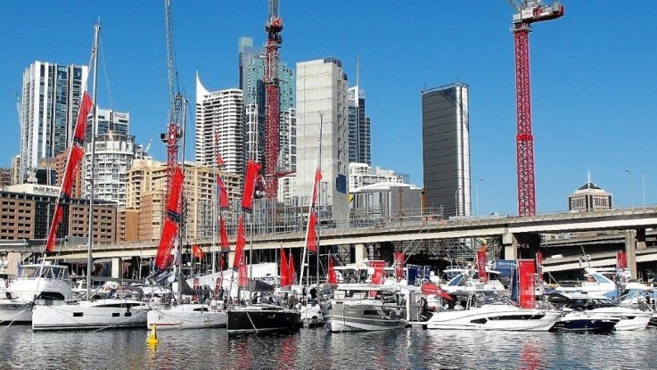 Sydney Boat Show - Biggest Jeanneau Display Ever!